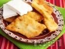 Рецепта Мекици с кисело мляко и сода (без втасване)